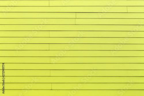 Fototapeta  Bois de bardage jaune