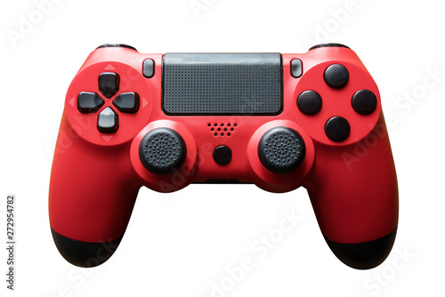 video game controller. gamepad isolated on white. Tableau sur Toile