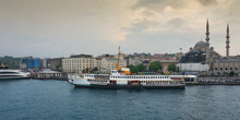 Istanbul The Capital Of Turkey ( Eminonu Square ), Eastern Tourist City.