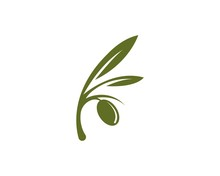 OLive Logo Vector Illustration Design Template