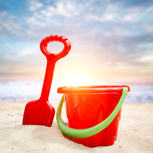 Summer Beach Background And Fr...