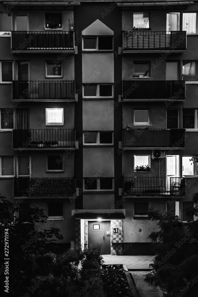 Fototapeta nocne życie