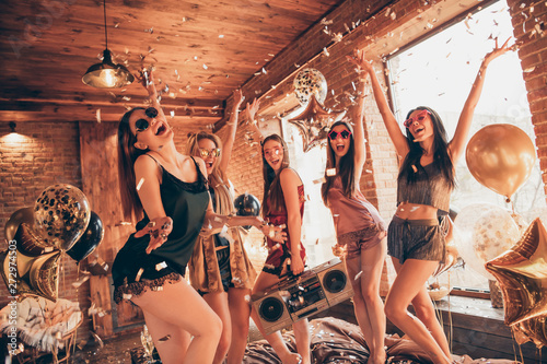 Fotografie, Obraz  Disco slumber discotheque relax event holiday day vacation indoors decoration concept