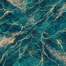 Abstract Background, Malachite...