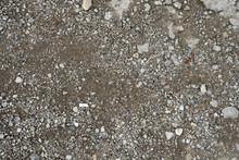 Rock Gravel Mixed With Dirt Sa...
