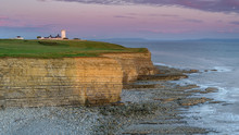 Nash Point Lighthouse, South W...