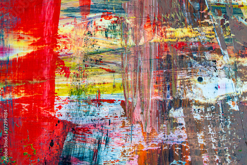 Fototapety, obrazy: modern timeless multicolored abstract background