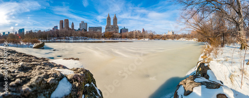 Fotomural  Winter in Central Park, New York, United States.