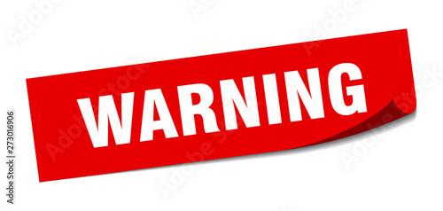 Fotografia warning
