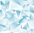 canvas print picture - Abstract Low-Poly background. triangulated texture. Design 3d. Polygonal geometrical pattern. Triangular modern style