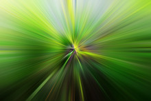 Abstract Zoom Blur Effect For Background