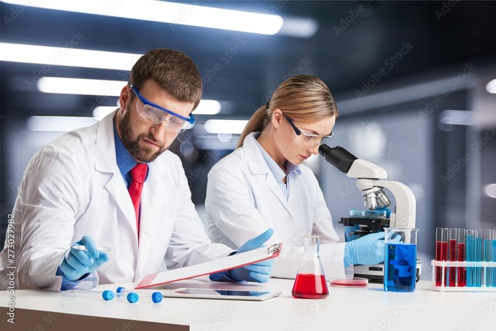 Fototapety, obrazy: Laboratory.