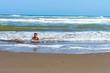 dia de playa de mi hijo adrian