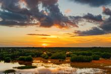 Sunset Ten Thousand Isles NWR 05