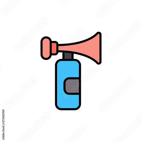 Fotografía Air horn vector icon sign symbol
