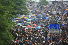 Protest In Hong Kong On June 1...
