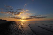 Sunrise Over Florida Bay Off E...