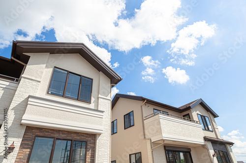 新築住宅 イメージ Fotobehang
