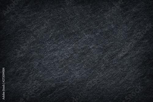 Fototapety, obrazy: Dark grey black slate background or texture.