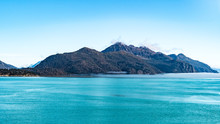 Rocky Mountain Range In Glacie...