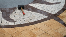 Image Of Colored Paving Tiles.