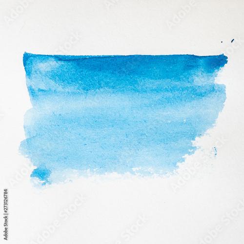 Fotografia, Obraz  Arrière plan tâche de couleur aquarelle abstrait