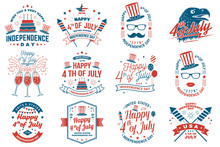 Set Of Vintage 4th Of July Des...
