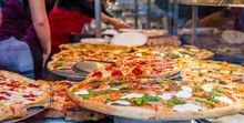 Assortment Of Italian Pizzas I...
