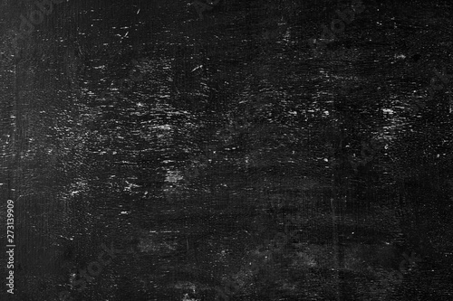 Blank Front Real Black Chalkboard Background Texture In