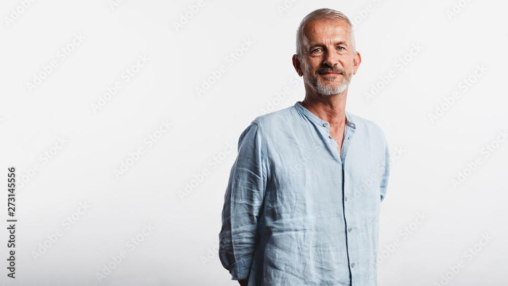 Fototapety, obrazy: Portrait of senior man