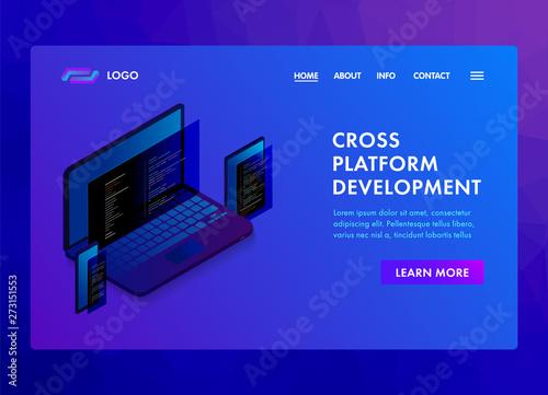Multi platform software development and coding programming website