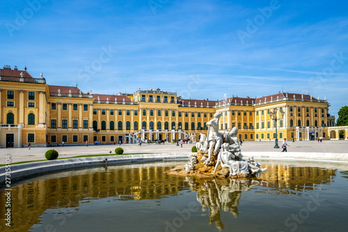 Fotografía  Schloss Schönbrunn, Wien, Österreich