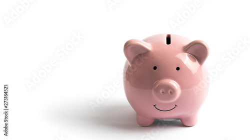 Piggy Bank, concept of savings Fotobehang