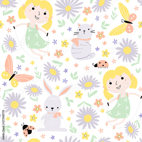 seamless-pattern-with-little-girls-playing