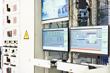 Screens Monitoring Of Technological Processes