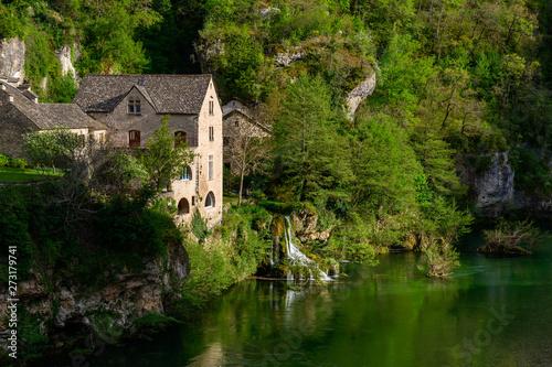 Fotografie, Obraz Saint Chély du Tarn