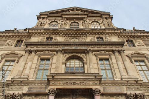Fotografie, Tablou le louvre - paris - france