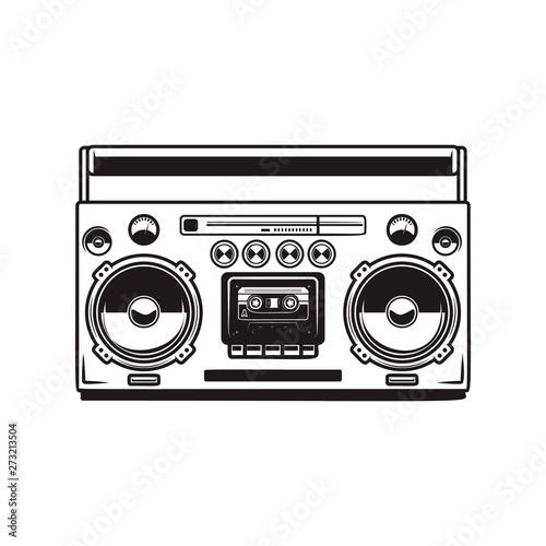 boombox cassette players Fototapet