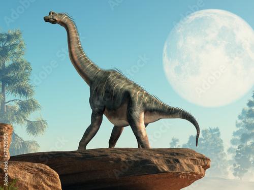 Fotografie, Obraz  Brachiosaurus was a sauropod dinosaur, one of the largest and most popular