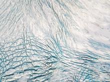 Aerial View Of Vatnajˆkull Water Glacier In Iceland.