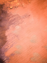 Abstract Aerial View Of Salt Beds In Australia.