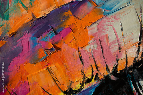 Obrazy reprodukcje  fluorite-oil-painting-conceptual-abstract-picture-of-the-eye-oil-painting-in-colorful