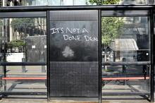 Graffiti Against Brexit At A B...