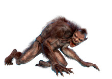 Lycan Monster Is Crawling In A...