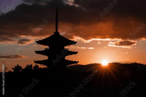 Printed kitchen splashbacks Kyoto 八坂の塔 Yasaka Pagoda 京都 Kyoto
