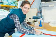 Mattress Factory Worker Markin...