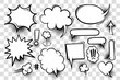 Comic book text speech bubble