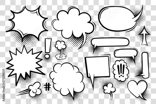 Pinturas sobre lienzo  Comic book text speech bubble