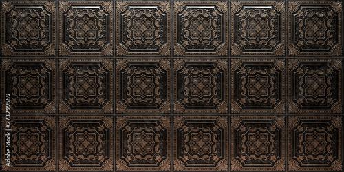 Fotografía  Vintage decorative pattern. 3D rendering.