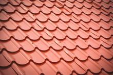 Orange Roof Tiles Texture Back...